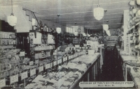 Interior of Teels Store
